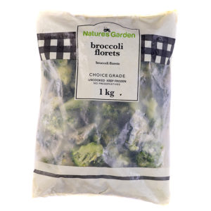 Nature's Garden – Broccoli florets 1kg