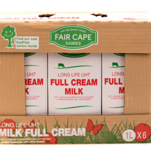 Fair Cape Milk – 1 Litre (6 Pack)