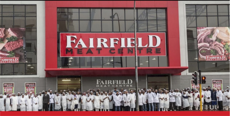 Fairfield Meat Centre Facility with team in front of shop