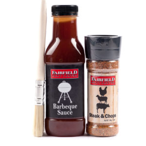 BBQ Sauce + Steak and Chop Spice – with Brush