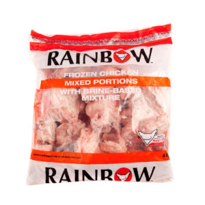 Rainbow Frozen Chicken Mixed Portion 4kg