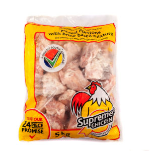 Supreme Chicken Mixed Chicken Portions 5kg