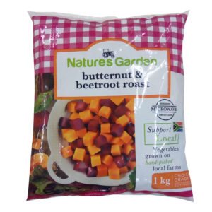 pack of butternut and beetroot roast